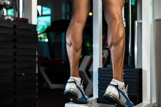 How to pump up the calf muscles