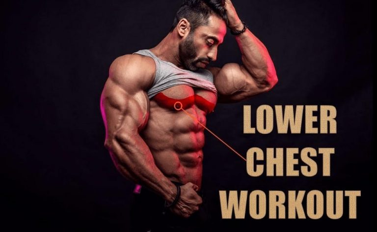 How to Perform Lower Chest Workout at home