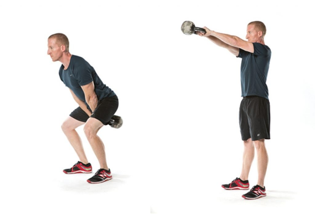 How To Do The Kettlebell Swing - The Box