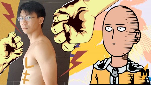 This amazing guy trained like the One Punch-Man for one month: Astonishing Transformations and real benefits from this Anime
