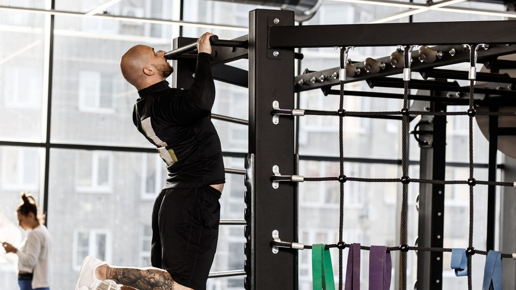 pull-up back exercise for beginners